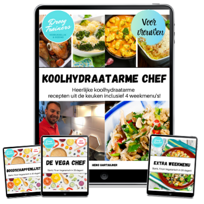 De Koolhydraatarme Chef ipad